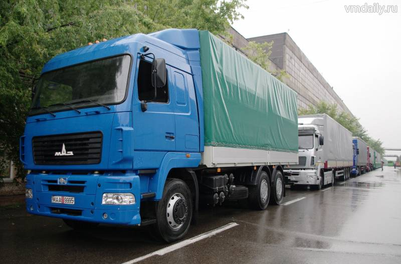 На въезде в Крым не пустили три грузовика со свининой