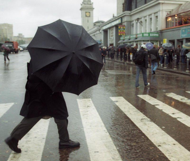 Дождливо и прохладно будет в четверг в