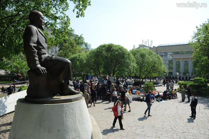 памятник Абаю Кунанбаеву