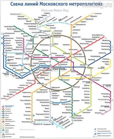 Утверждена схема метро до 2020 года.
