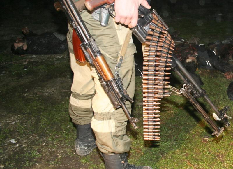 Между Чечней и Ингушетией уничтожили двух боевиков