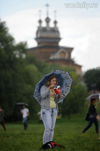 Дождь и гроза ожидается в столице в