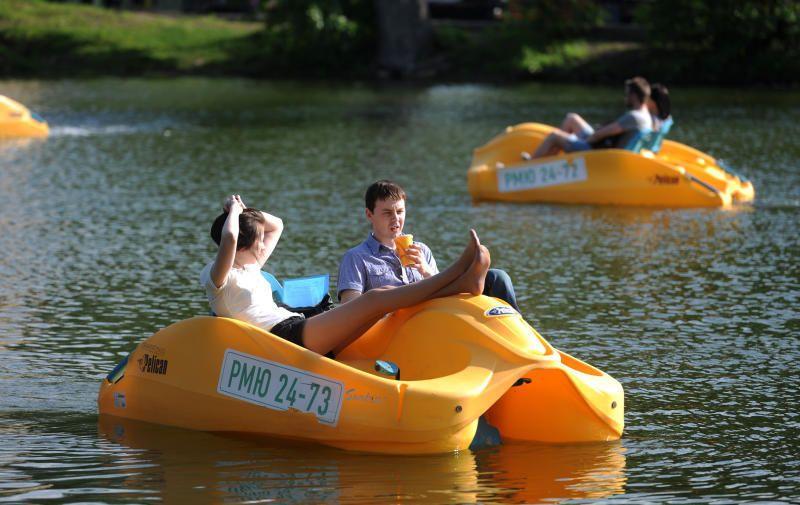 минск покататься возьми лодках