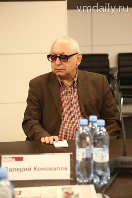 Валерий Коновалов, главный редактор газеты «Крестовский мост»