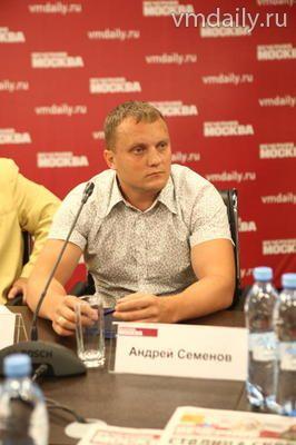 Андрей Семенов, директор ТВ-студии АВ Контент