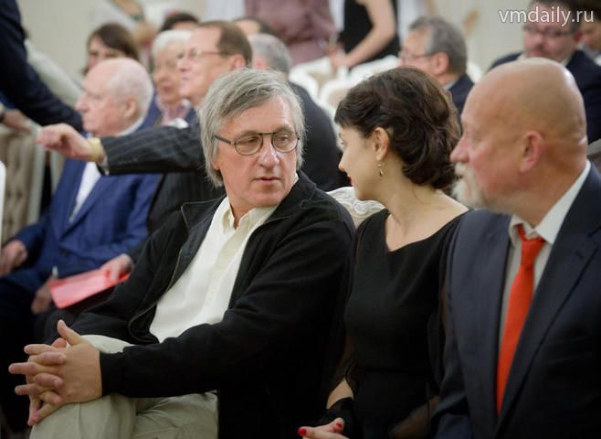Церемония вручения премий города Москвы в области литературы и искусства.