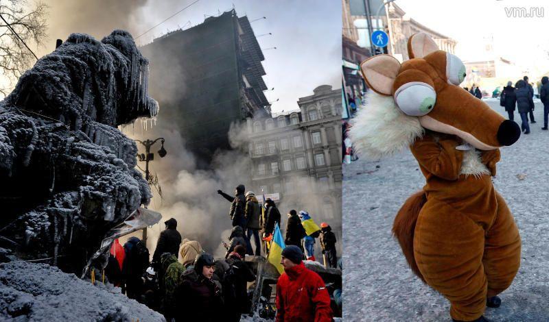 Дети конфликтного Майдана и жизнь за его границей глазами россиян