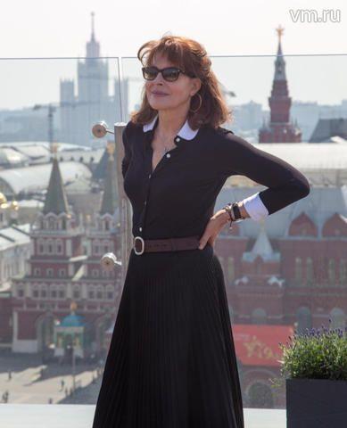 В москву приехала фанни ардан