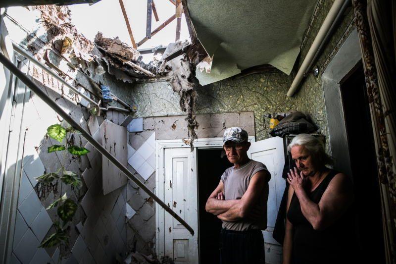 В ходе боевых действий в ЛНР были повреждены более 10 тыс. частных домов