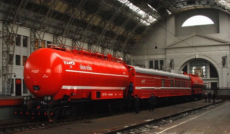 Поезда московской железной дороги