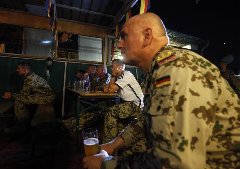 Жизнь германского генерала раненого