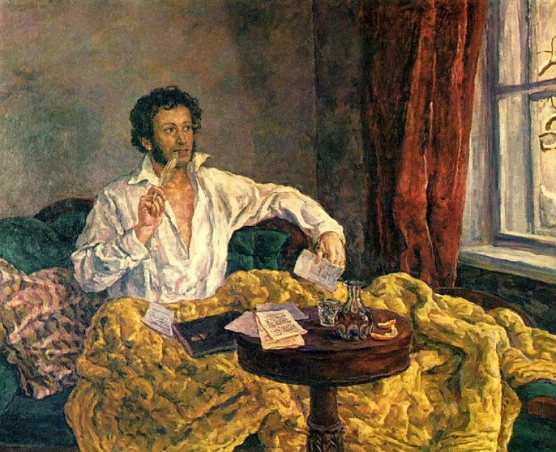 """Пётр Кончаловский """"Пушкин в Михайловском"""" (1932)"""