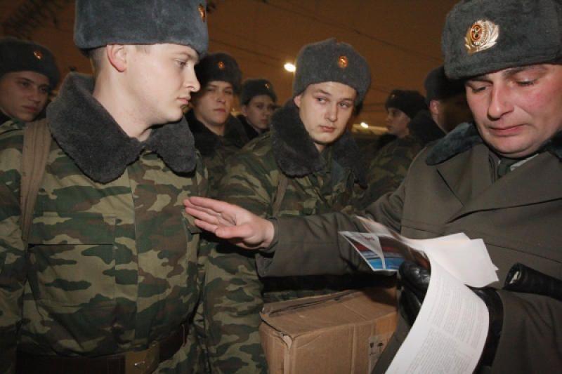 Началась подготовка к осеннему призыву в армию.