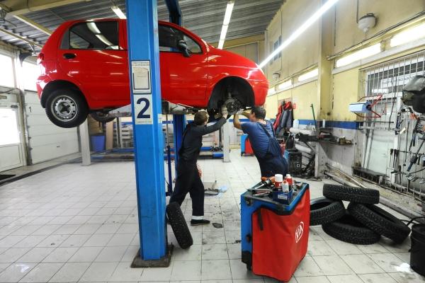 На заводе по производству Chevrolet Niva