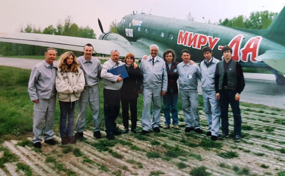 В авиации нет случайных людей, считает Леонид Якубович / Из личного архива Леонида Якубовича