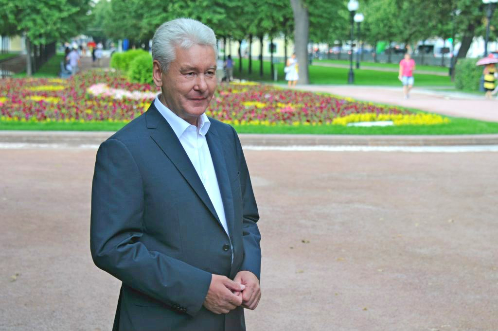 Мэр Москвы отметил, что московские парки подготовили программу для любого возраста