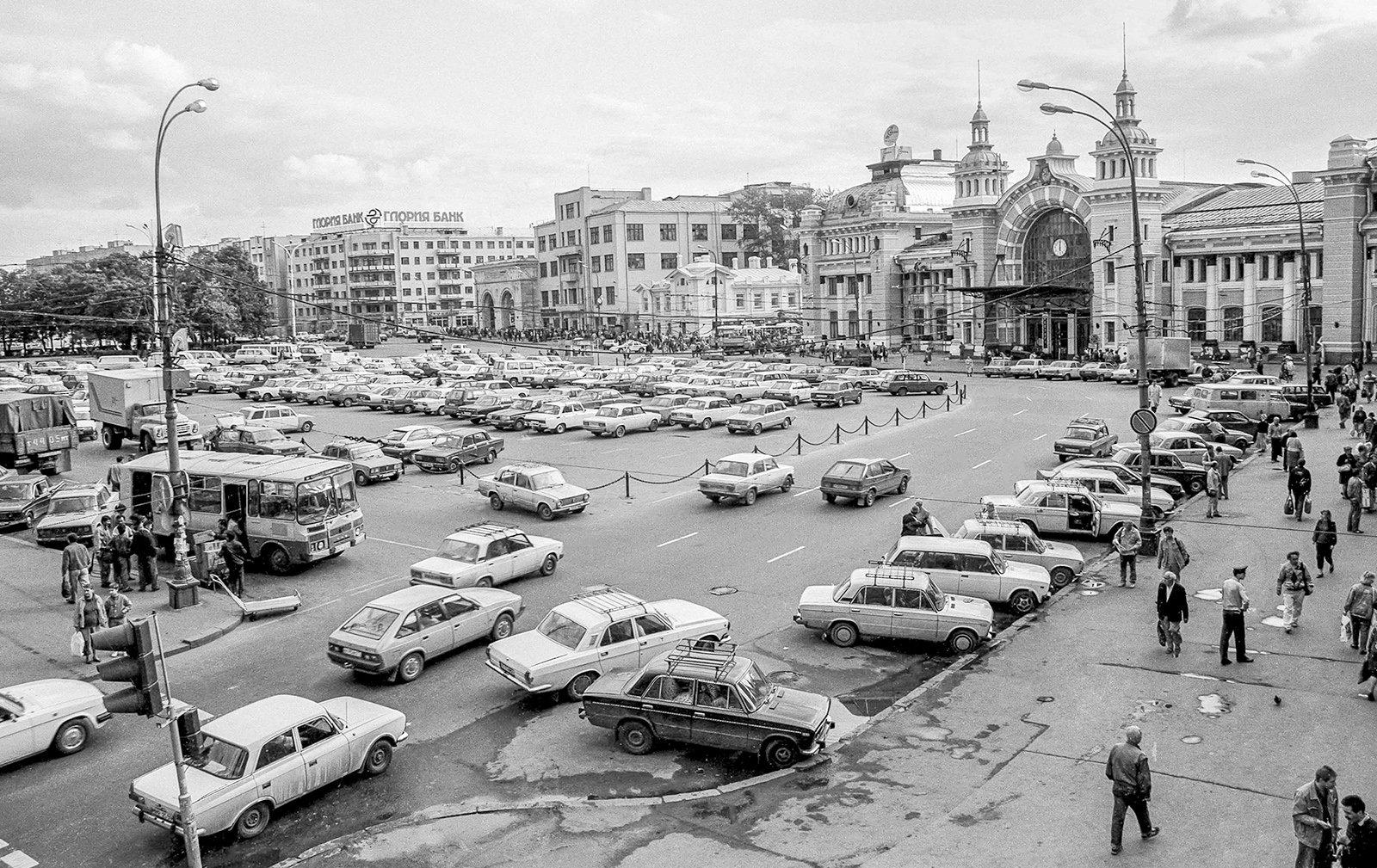 Общий вид площади Тверская Застава. Автор В. Мариньо. 18 августа 1994 года. Главархив Москвы / Free / Официальный сайт мэра и правительства Москвы