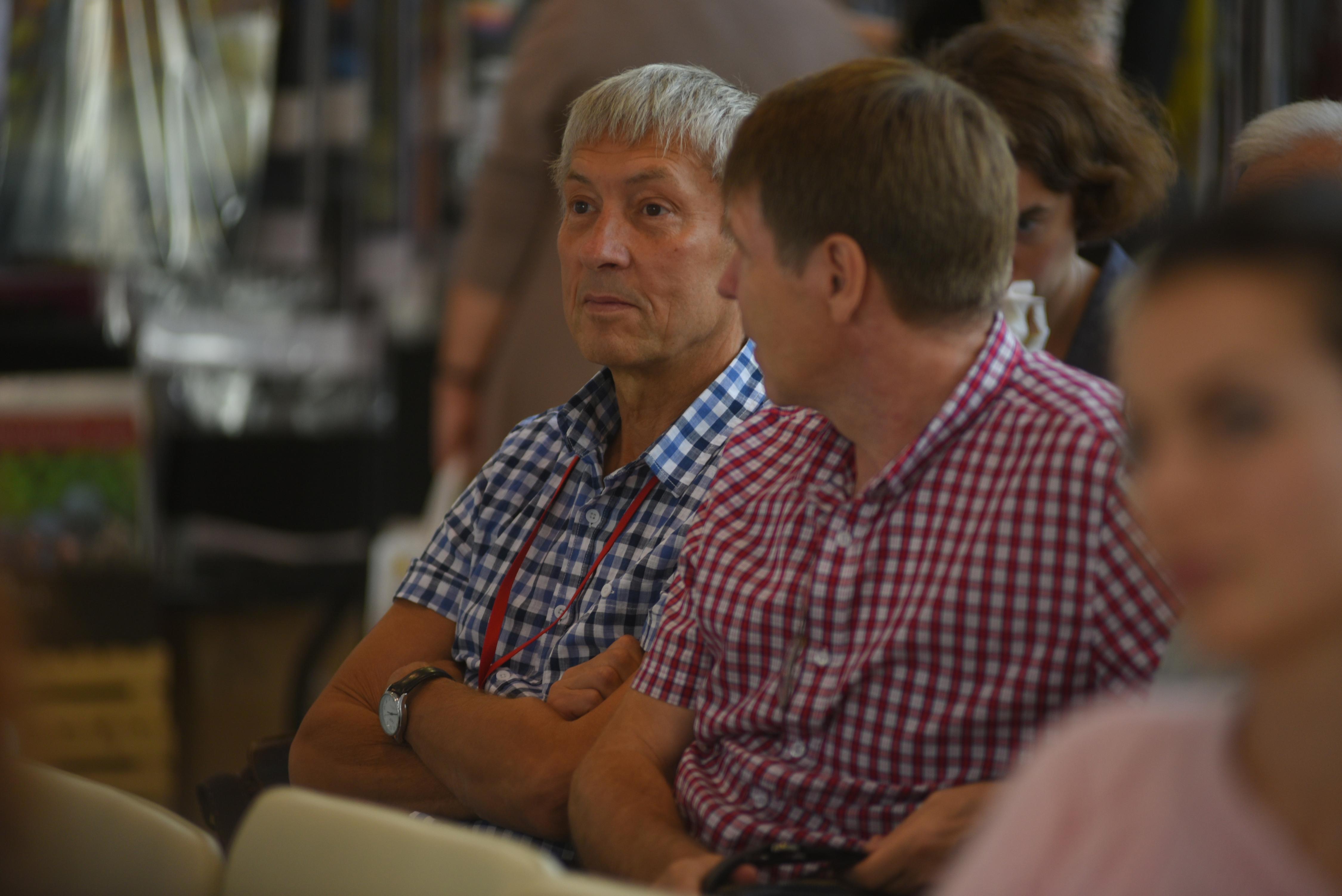 На фото — писатель, главный редактор журнала «Роман-газета» Юрий Козлов / Александр Кожохин, «Вечерняя Москва»