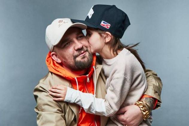 Рэпер Баста с дочкой Марусей / официальная страница Басты в Facebook