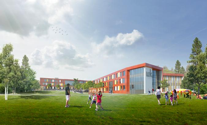 Строительство школ-гигантов — новый тренд мегаполиса