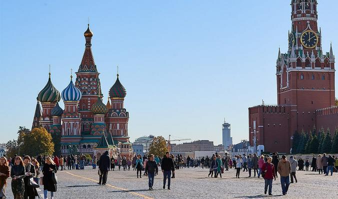 Туристов в столице становится все больше / Официальный сайт мэра Москвы (mos.ru)