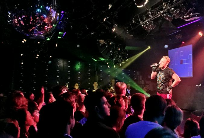 Выступление группы #дископровокация / Игорь Ивандиков, «Вечерняя Москва»