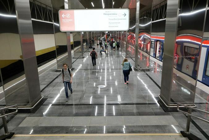 Станция «Косино» связана пересадкой с «Лермонтовским проспектом»  / Предоставлено пресс-службой