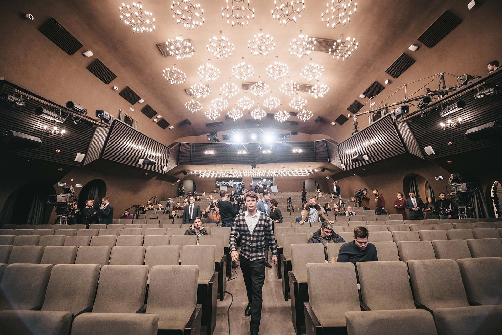 выполнен театр современник фото зала так поняли