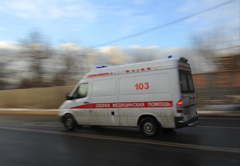 Водитель скутера скончался после столкновения с грузовиком в Новой Москве