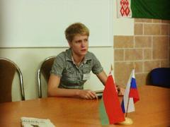 Анна Богачева на молодежном форуме в Белоруссии