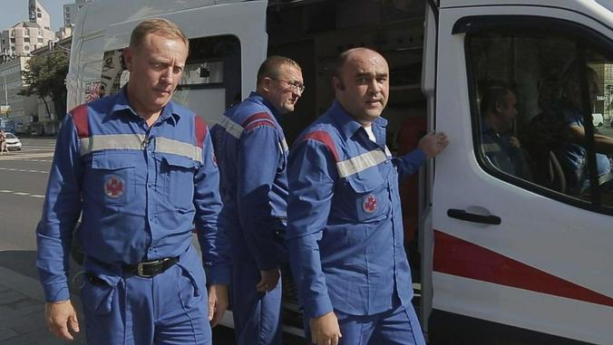 Сейчас машины московской «скорой» оснащены новейшими аппаратами вентиляции легких и кардиостимуляторами / https://www.1tv.ru/Официальный сайт Первого канала