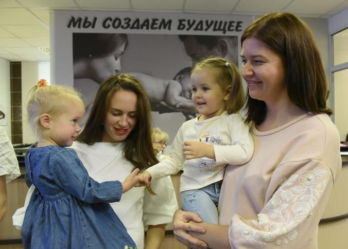 В новом пятиэтажном здании у женской консультации началась новая жизнь / Владимир Новиков, «Вечерняя Москва»