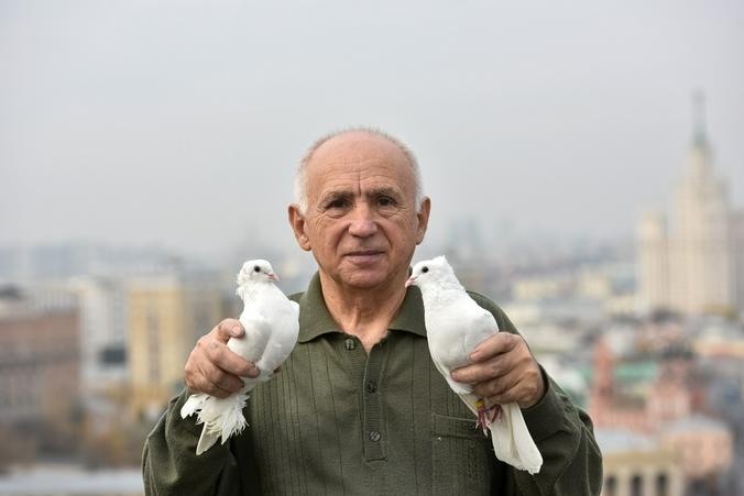 Московский символ мира: в столичной голубятне