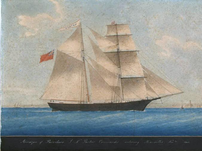 Парусный корабль «Мария Целеста», экипаж которой загадочно пропал в 1872 году / ru.wikipedia.org/Общественное достояние