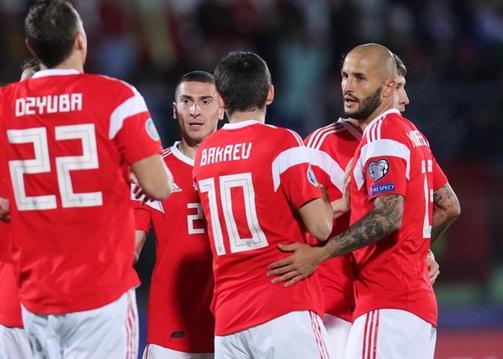 Сборная России разгромила команду Сан-Марино в отборочном турнире Евро-2020