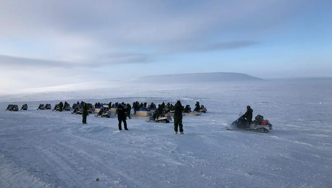 Войска НАТО на учениях в Арктике / Официальный сайт НАТО/www.nato.int