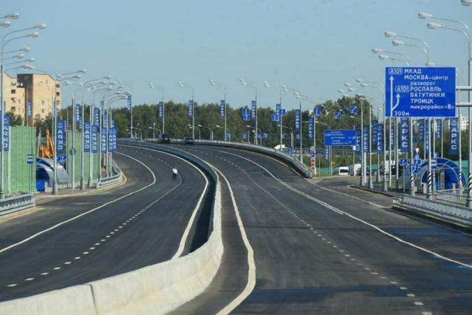 За четыре года в Новой Москве проложат 300 километров магистралей / Пресс-служба Комплекса градостроительной политики и строительства г. Москвы