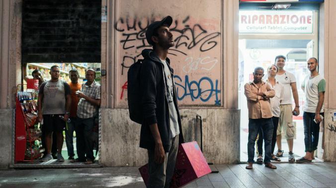 Фильм получил итальянский «Золотой глобус» в категории «Лучший дебют» / Кадр из фильма «Итальянец»