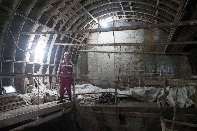 В этом году запланировано строительство множества новых станций метро / Антон Гердо, «Вечерняя Москва»