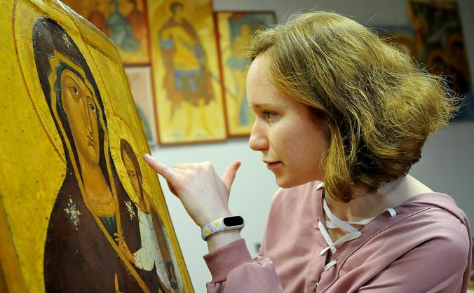 Православная церковь всегда открыта для художников. Христианское искусство является тем корнем, от которого и пошло изобразительное искусство в целом / Светлана Колоскова, «Вечерняя Москва»