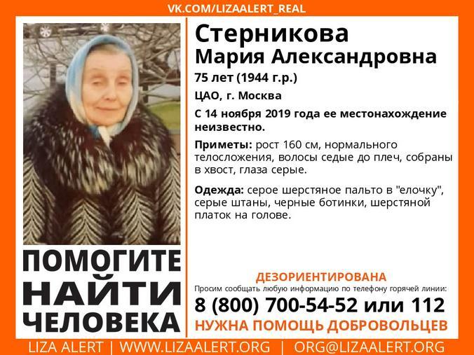 """Официальная группа поисково-спасательный отряда """"Лиза Алерт"""" в VK.COM"""
