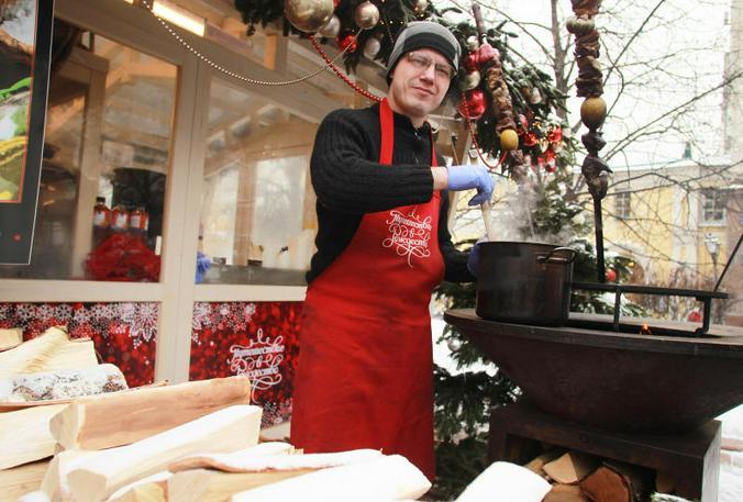 Гости «Путешествия в Рождество» смогут попробовать вкусные блюда / Наталия Нечаева, «Вечерняя Москва»