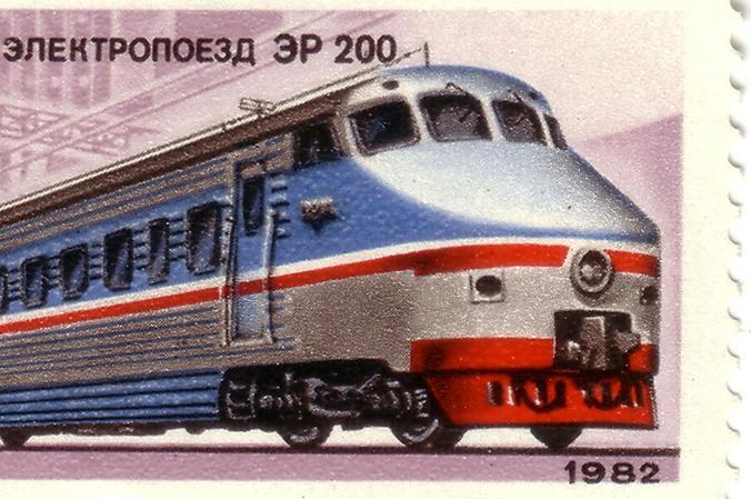 Локомотив был полностью разработан и собран в Советском Союзе. Над созданием этого электропоезда работали коллективы более 50 НИИ / Wikipedia/Общественное достояние