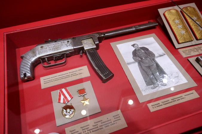 Часть экспозиции посвящена партизанам / Агенство городских новостей «Москва»