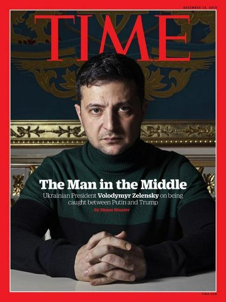 Владимир Зеленский на обложке журнала Time / time.com/ Официальный сайт журнала Time