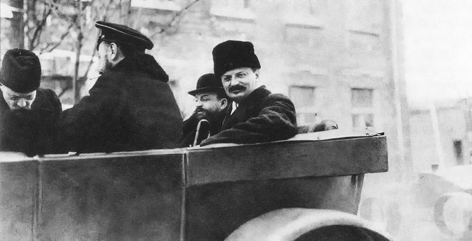 Троцкий в 1918 году / Wikipedia/Общественное достояние