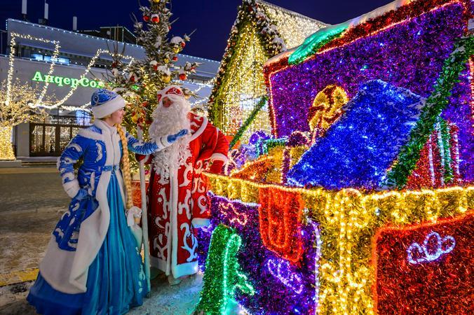 """В России есть особые традиции, связанные с зимними праздниками / Предоставлено пресс-службой """"Московские сезоны"""""""