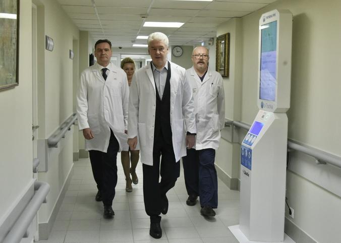 По словам Сергея Собянина, лекарственной терапией будут охвачены пациенты по десяти нозологиям / Владимир Новиков, «Вечерняя Москва»