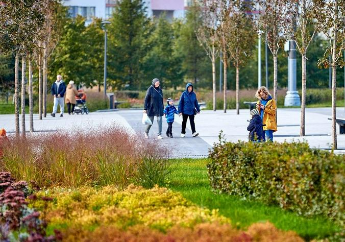 В 2019 году благоустроили 159 парков / Официальный сайт мэра Москвы (mos.ru)