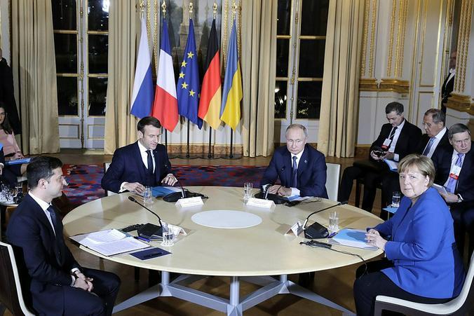 Встреча «нормандской четверки» состоялась в Париже  / kremlin.ru / Официальный сайт Президента России